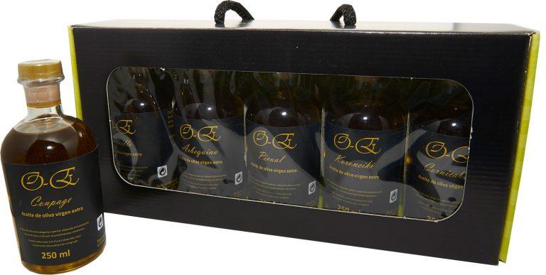 Pack de 5 botellas de 250 ml cada una (surtido de distintas variedades)