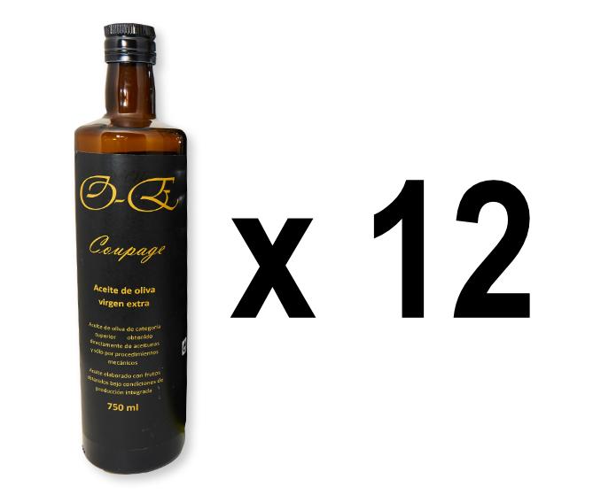 Lote de 12 botellas de 750 ml cada una (surtido de distintas variedades)
