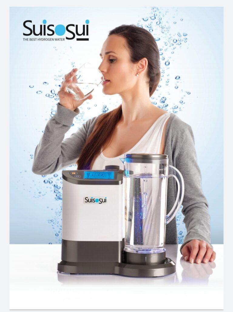 Sistema de Hidrogenación Suisosui (agua enriquecida con hidrógeno)